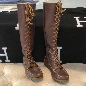 Speedy knee high boots